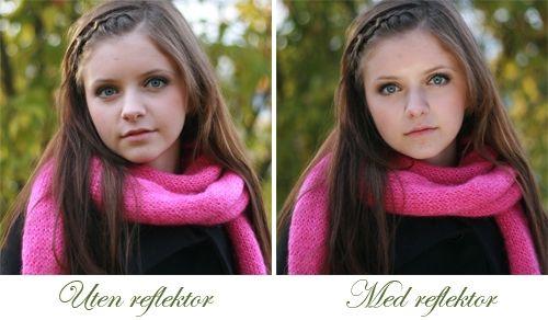 Fotografering med reflexskärm